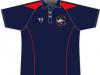 Navy hockey shirt