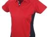 Red hockey shirt