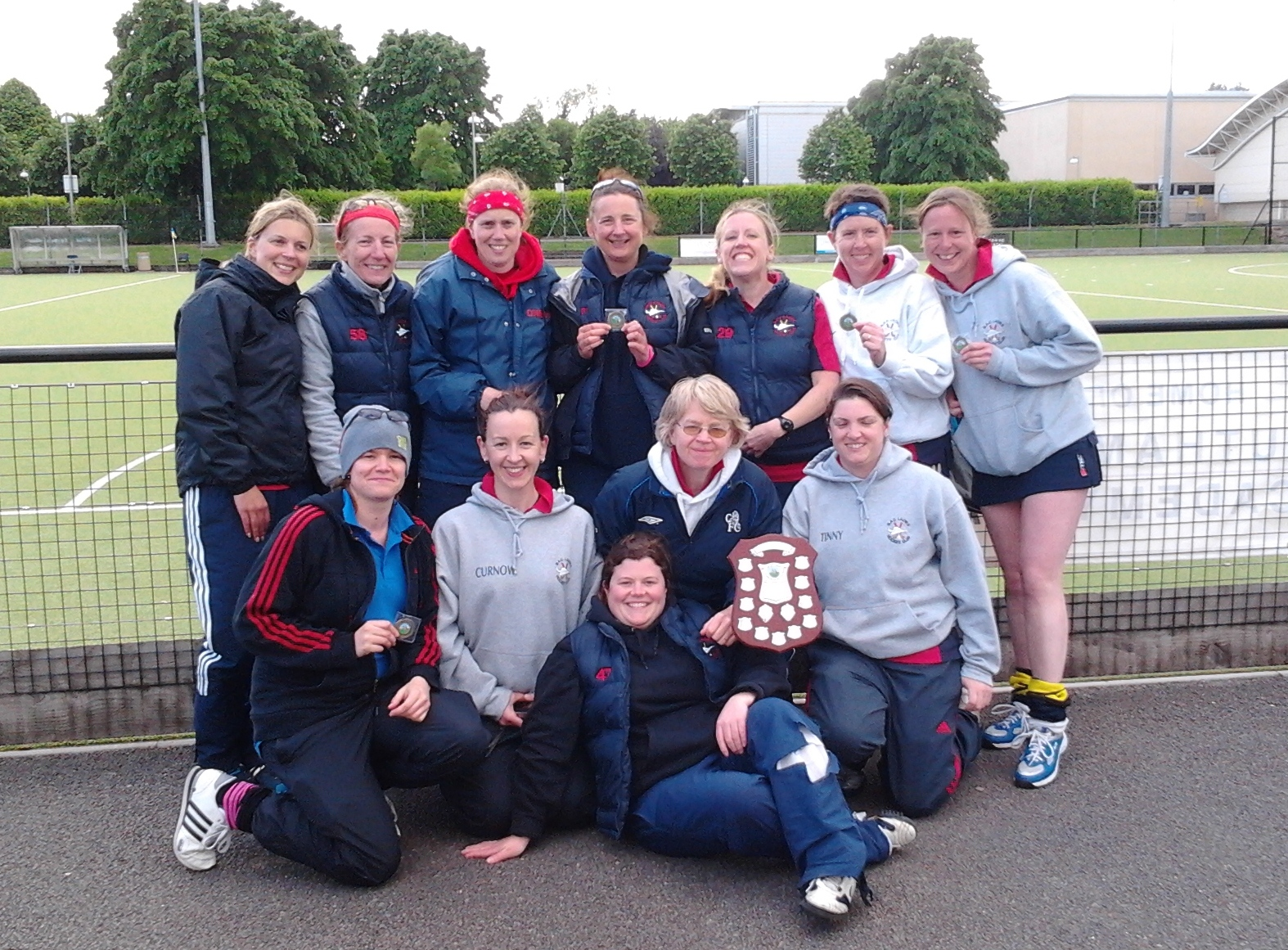 TeamBath Veterans Challenge Ladies Winners 2013-2