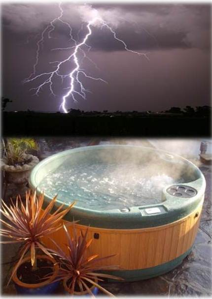 Storm in a Hot Tub