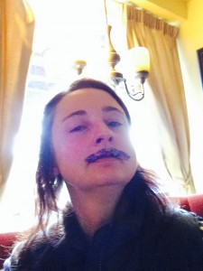 Lip Tattoo/moustache