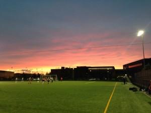 That sunset...