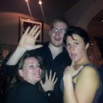 Amy, Kay and the Barman